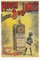"Pub "" RHUM Des Plantations St JAMES "" - Publicidad"