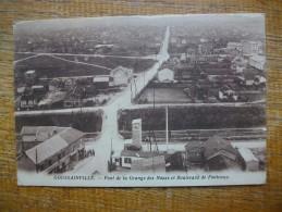 Carte Assez Rare Goussainville , Pont De La Grange Des Noues Et Boulevard De Fontenay - Goussainville