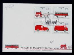 UPAEP Transports Courrier Poste Mercedes Railway Postal Ambulance Volkswagen Van Horse Mail Coach DAF Portugal Sp3899 - Post