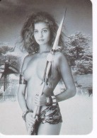 CALENDARIO DEL AÑO 1997 DE UNA CHICA SEXI (NUDE-DESNUDO) (CALENDRIER-CALENDAR) - Calendarios