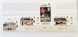 BRUNEI 1989 L5th Anniv National Deay Set MNH - Brunei (1984-...)