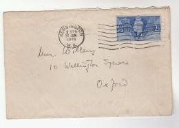 1946 Kensington GB Stamps COVER - 1902-1951 (Kings)