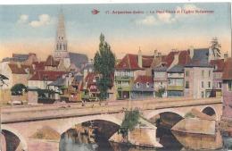 -36- ARGENTON Sur CREUSE   Le Vieux Pont Et L'église Saint Sauveur - Neuve Excellent état - France