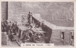 CPA De NAPOLEON 1°  -  Le Siège  De  Toulon En 1793   //  TBE - Characters