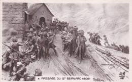 CPA De NAPOLEON 1°  -  Passage Du Saint-Bernard En 1800   //  TBE - Characters