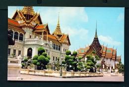 THAILAND  -  Bangkok  Royal Grand Palace  Unused Postcard - Thailand