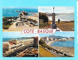 DEPT 64 - LA COTE BASQUE - MULTIVUES - 4 Vues - ENCH1202 - - France