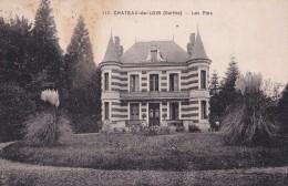 Carte 1930 CHATEAU DU LOIR / LES PINS (château,villa) - Chateau Du Loir