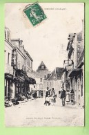 THENON - Beau Plan Animé Dans La Rue Principale  - Café De Bordeaux - Peu Courant - 2 Scans - Non Classés