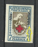Estland Estonia 1923 Michel 47 B * + OPT Variety - Estland
