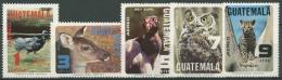 Guatemala 1979 Tiere 1124/28 Postfrisch - Guatemala