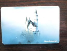 Germany, Deutschland, PD Serie, Telefonkarte, Phonecard, Neuschwanstein, Schöne Landschaften, Used - Paysages