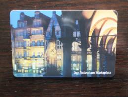 Germany, Deutschland, PD Serie, Telefonkarte, Phonecard, Der Roland Am Marktplatz, Bremen, Schöne Landschaften, Used - Paysages