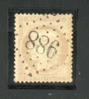Gros Chiffres GC 988 Sur N° 59 Y&T - Chaux-Neuve (Doubs) - Marcophilie (Timbres Détachés)