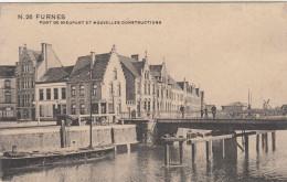 Veurne, Furnes, Le Pont De Nieuport Et Nouvelles Constructions (pk29172) - Veurne