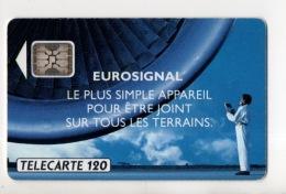 """TÉLÉCARTE FRANCE . """" EUROSIGNAL """" SÉRIE 32214 . 3 SCANS - Réf. N°150C - - France"""