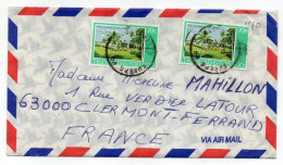 TRINITE ET TOBAGO---Lettre De CUREPE   PO Pour Clermont-Ferrand-63  France --timbres -cachets - Trinidad & Tobago (1962-...)