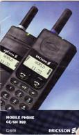 MANUALE USO - ERICSSON GF/GH388 - 1995 - GUIDA RAPIDA - Telefonia