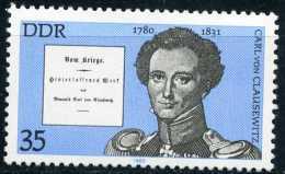 A11-15-2) DDR - Michel 2496 - ** Postfrisch - 35Pf  Persönlichkeiten VIII Carl Von Clausewitz - Ongebruikt