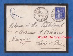 Enveloppe Ancienne - Envoi De COSNE ( Nièvre ) - 1939 - France
