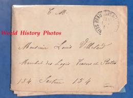 Courrier + Enveloppe - Envoi De Camille TUBERT , 1 Rue V. Hugo à BEAUMONT Sur OISE à Son Cousin, Poilu Au Front - 1918 - 1914-18