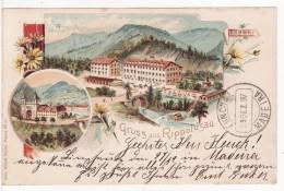 BAD RIPPOLDSAU-SCHAPBACH-Künzli-1897-Stempel-Stamp-Deutsche Seepost Hamburg Südamerika-Cordeio-Funchal-Cachet Bâteau- - Bad Rippoldsau - Schapbach