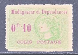 FRENCH  MADAGASCAR  4    *  COLIS  POSTAUX - Madagascar (1889-1960)