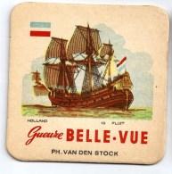 Belgique Belle - Vue Thème Bateau Navire - Sous-bocks