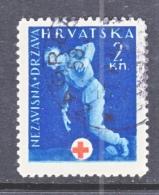 CROATIA  RA 2   (o)   RED  CROSS - Croatia