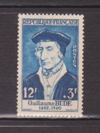 """FRANCE / 1956 / Y&T N° 1066 ** : """"Célébrités"""" (Guillaume Budé) X 1 - Unused Stamps"""