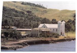 (170) Fiji Islands - Iles De Fidji (1980's Postcards) - Levuka UNESCO World Heritage Site (old Church) - Fidji