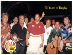 (170) Tonga Islands - Year 2000 First Dawn - Change Of Century - 75 Years Of Rugby - Tonga