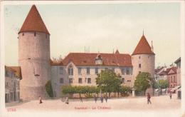 YVERDON : Le Château - Oblitérée Le 15.VIII.21 - VD Vaud