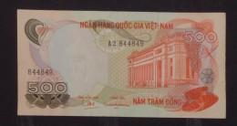 South Vietnam Viet Nam 500 Dong UNC Banknote 1972 - P#28 / 02 Images - Vietnam