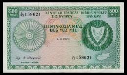 Cyprus 500 Mils 1979 VF+ - Chypre