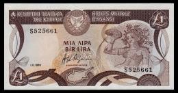Cyprus 1 Pound 1985 UNC - Chypre