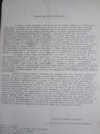 Tract Signé Comité De Défense Militante : L' Europe Des États Terroristes (Années 70-Autonomes) - Unclassified