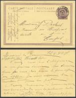 AA797 Entier De Villers L'Eveque à Tongres 1922 - Enteros Postales