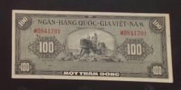 South Vietnam Viet Nam 100 Dong XF Banknote 1955 - P#9/ 02 Images - Vietnam