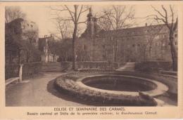 6 / 4 / 173  -  ÉGLISE  ET  SÉMINAIRE  DES  CARMES  -bassin Central Et Stèie - Churches