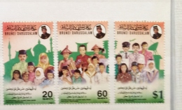 Brunei  1994 International Day Drug Abuse Set MNH - Brunei (1984-...)