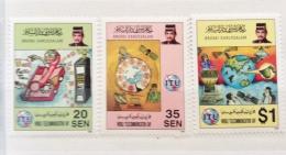 Brunei  1996 World Telecoms Day Set MNH - Brunei (1984-...)