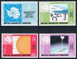 Territoire Antarctique Britannique - 20e Anniversaire Du Traité Sur L'Antarctique 101/104 ** - Territoire Antarctique Britannique  (BAT)