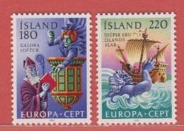 1981 ** Islande  (sans Charn., MNH, Postfrish)  Yv  518/9Mi  565/6FA  602/3 - Unused Stamps