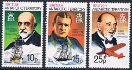 Territoire Antarctique Britannique - Personnages Célèbres 105/107 ** - Territoire Antarctique Britannique  (BAT)