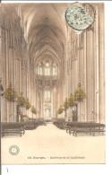 BOURGES   Interieur De La Cathedrale ,colorisée - Bourges
