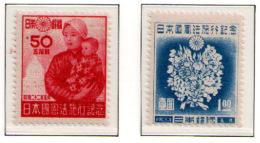 JAPAN 1947 - Set MNH