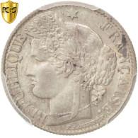 Monnaie, France, Cérès, 50 Centimes, 1886, Paris, PCGS, AU58, SUP, Argent - G. 50 Centimes