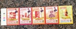 Brunei 2000  IThe Sultans Of Brunei Strip Set MNH - Brunei (1984-...)