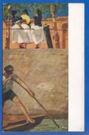 Malerei; Klinger M.; Spanischer Gondelführer; Museum Leipzig - Pittura & Quadri